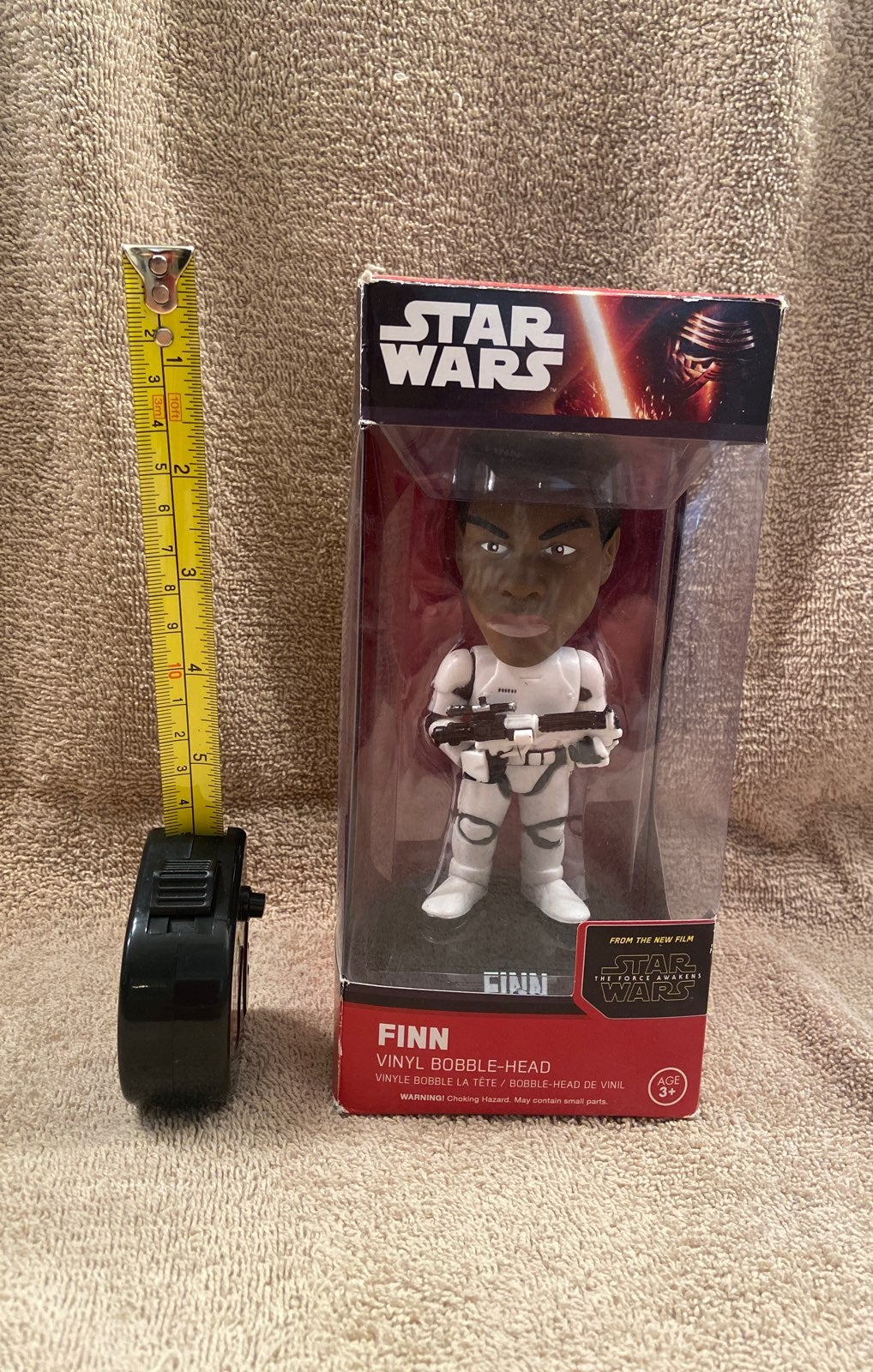 Finn 7 inch storm trooper bobble head