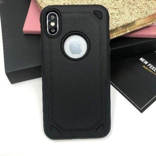 NEW iPhone X Black Hybrid Armor Case.