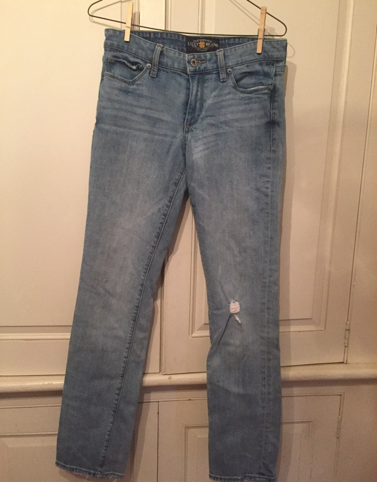Lucky Brand Skinny Jeans - size 4/27R