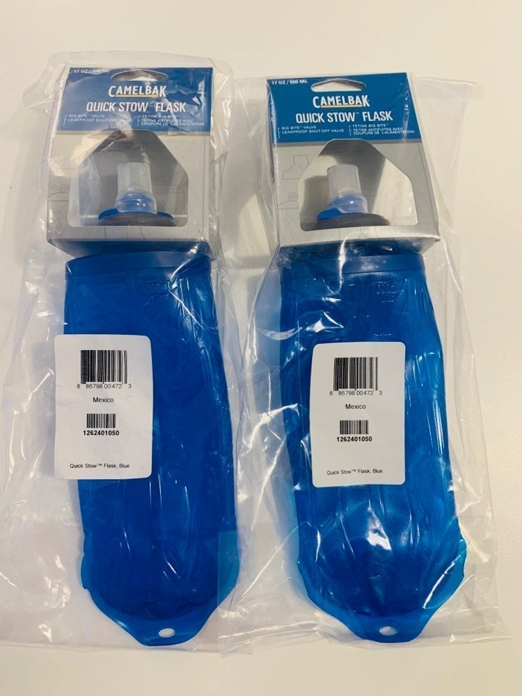 ✅2 Pack CamelBak Quick Stow Flask 17 oz