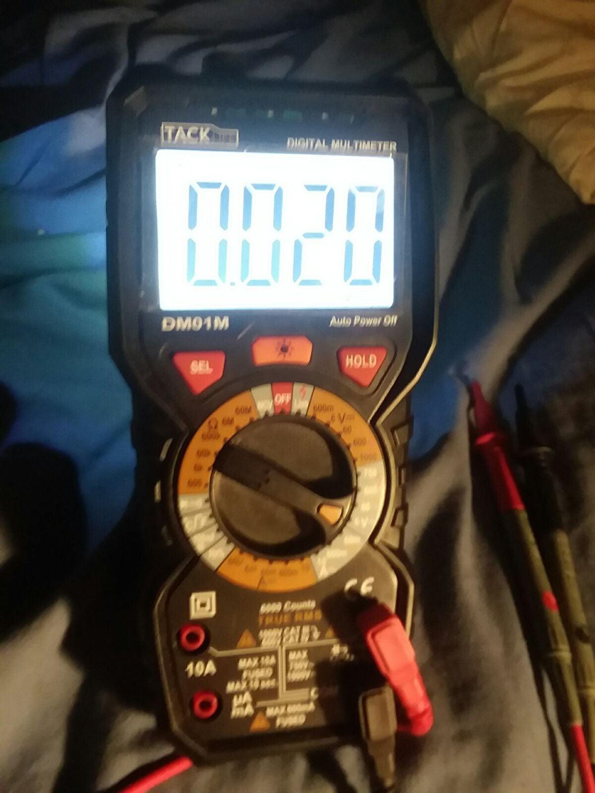 Tacklife DM01M Digital Meter