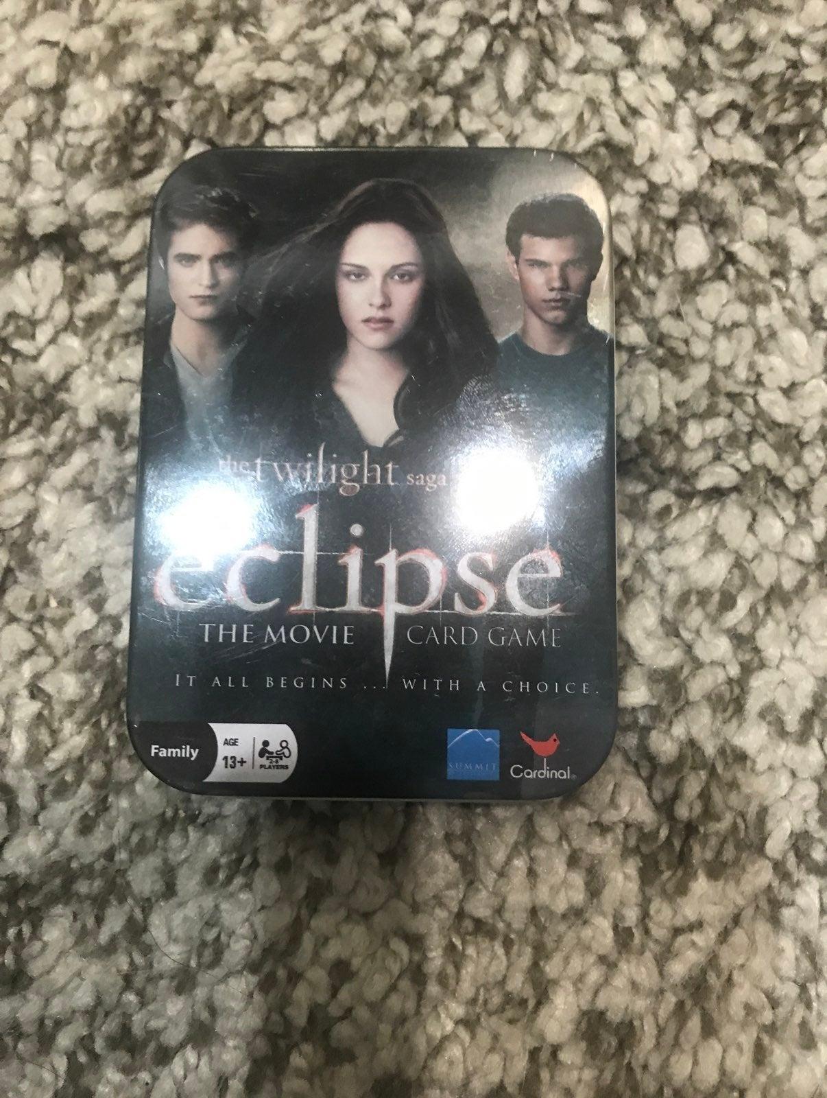 Twilight eclipse card game