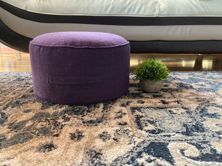 Purple Tatami Meditation Cushion