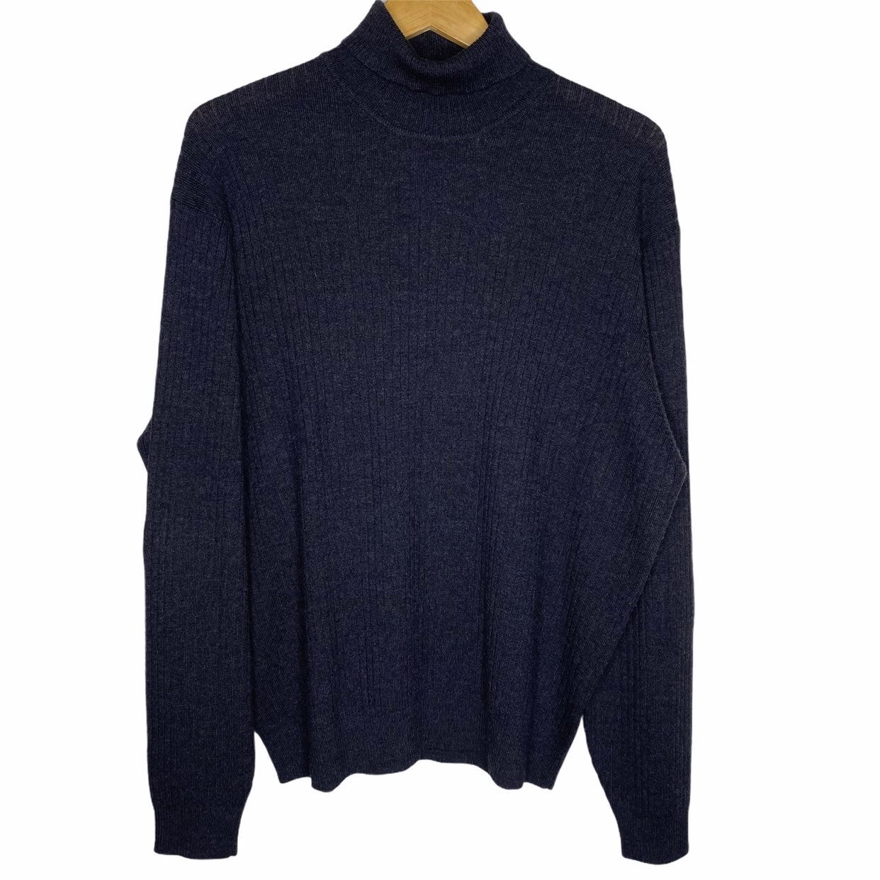 Brooks Brothers Ribbed Knit Sweater L