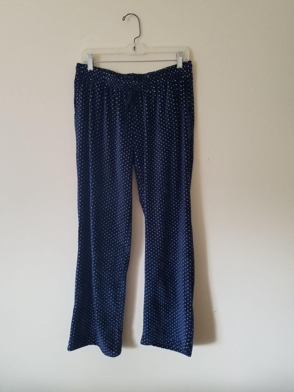 Blue fuzzy pants