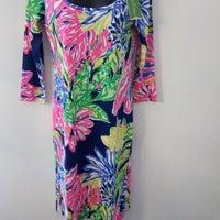 98a9cba3de0a80 Lilly Pulitzer Palm Print Dresses | Mercari