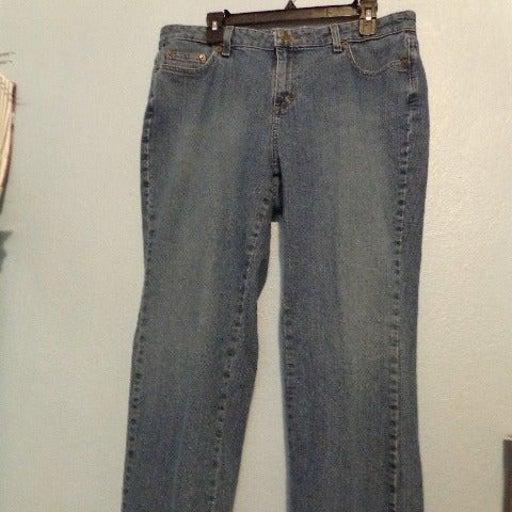 Covington Bootcut Women's Blue Jeans 16