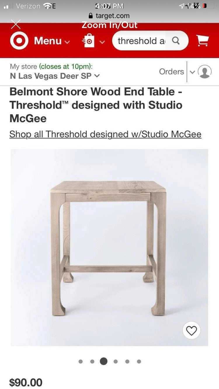 Studio McGee Accent Table