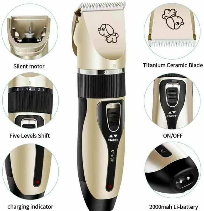 New Pet Dog Hair Grooming Quiet Trimmer