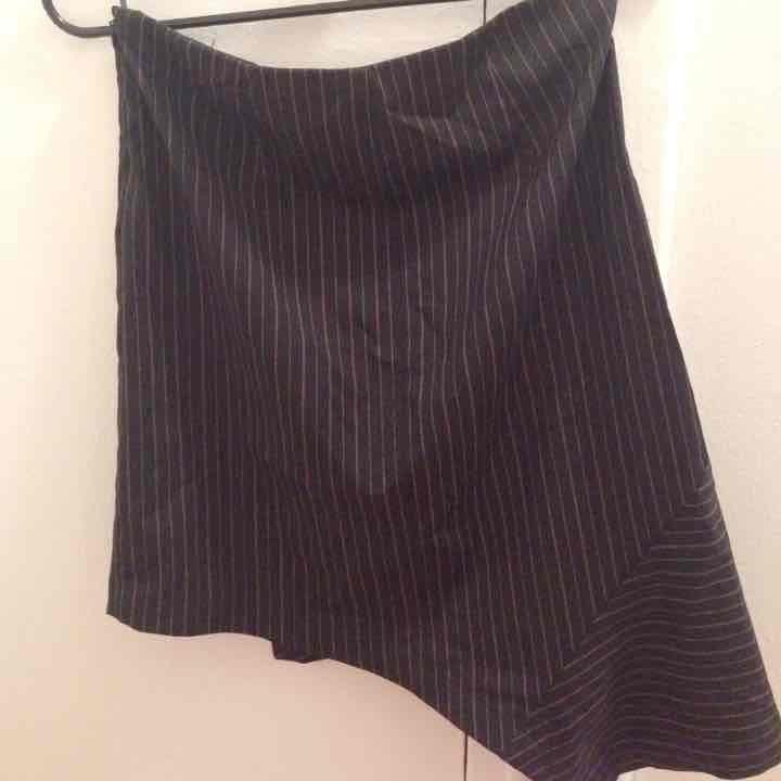 Benetton asymmetrical skirt
