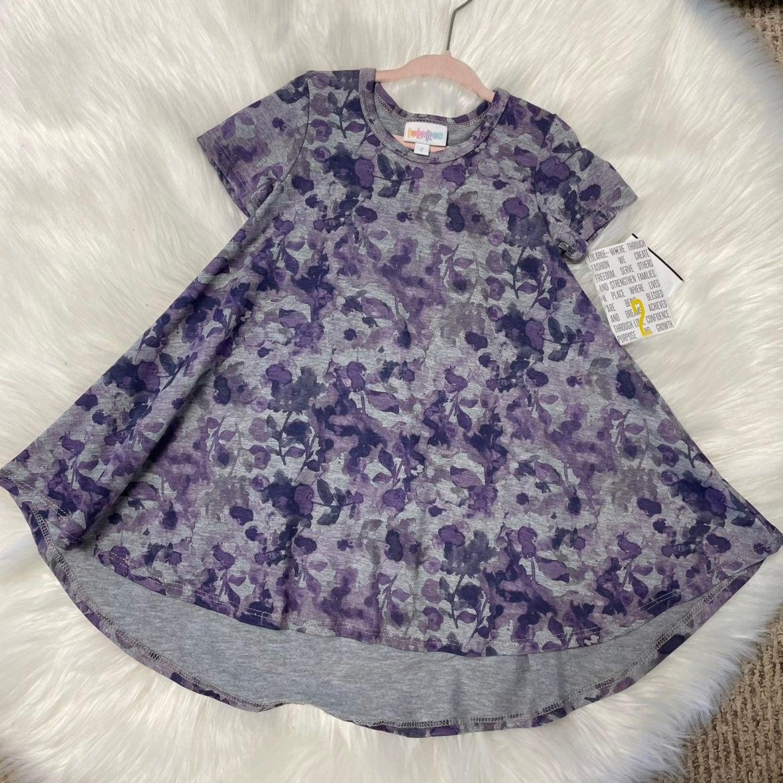 Lularoe Scarlett KIDS Dress SIZE 2