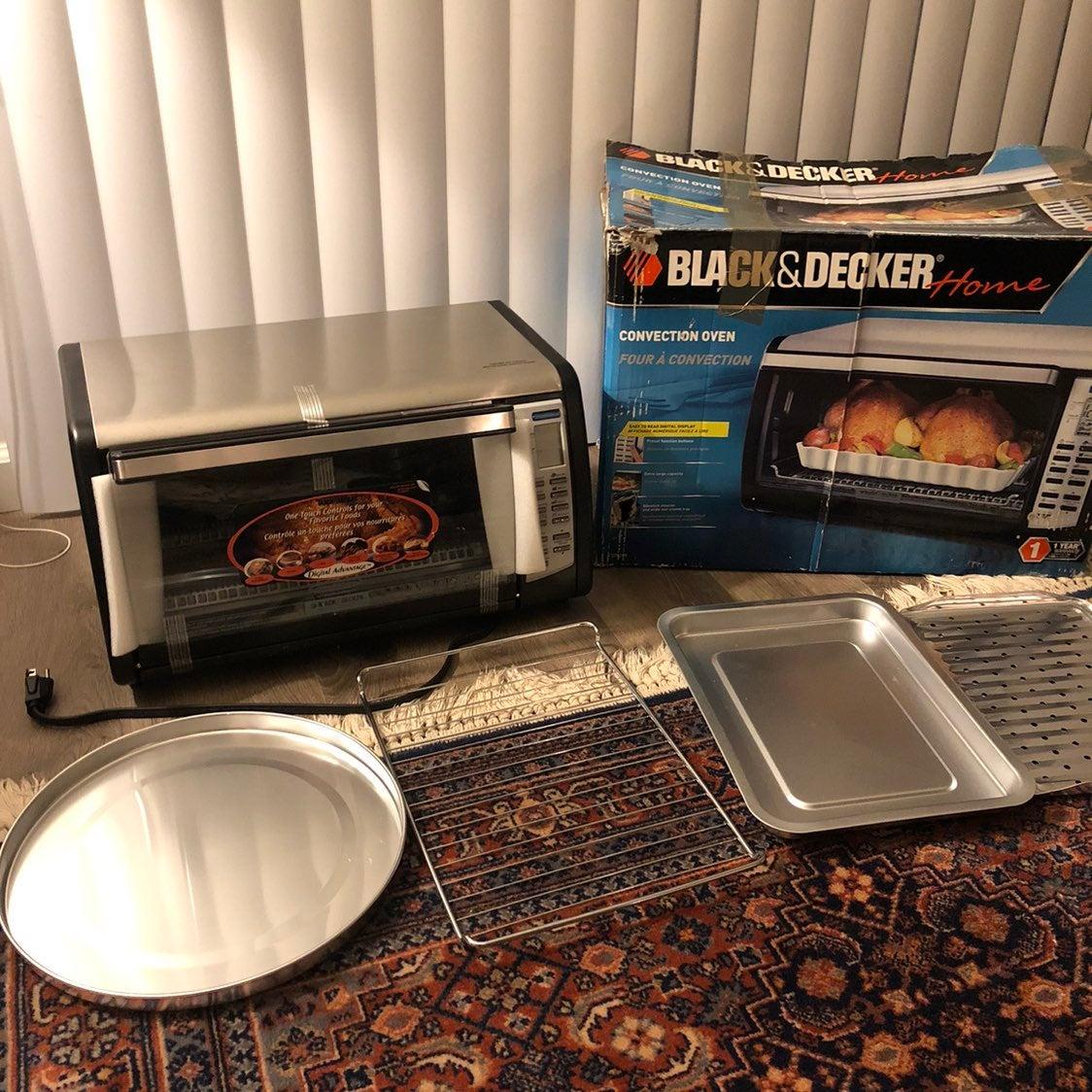 NEW! Black & Decker Convection Oven!