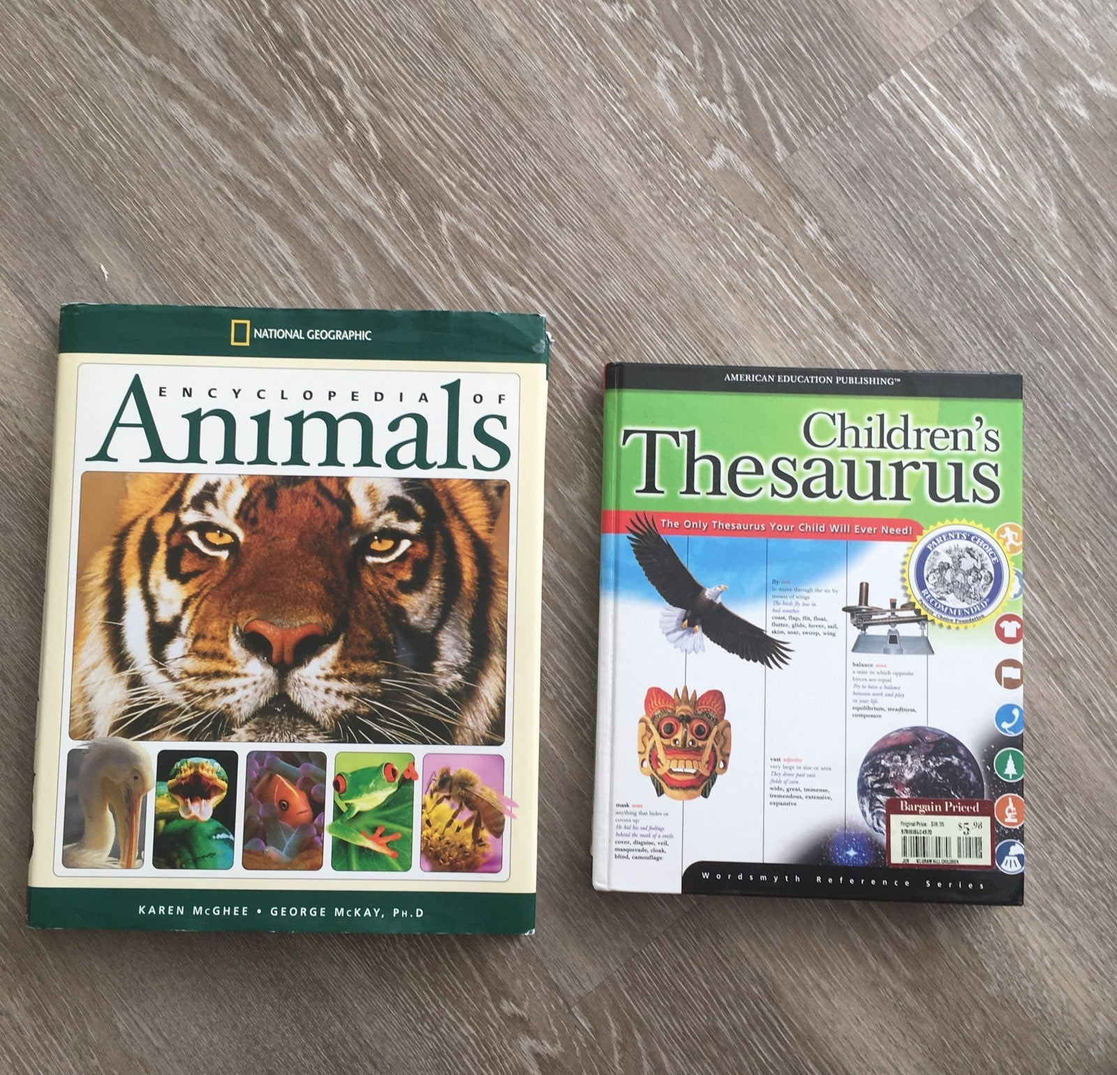 Encyclopedia Animals Childrens Thesaurus