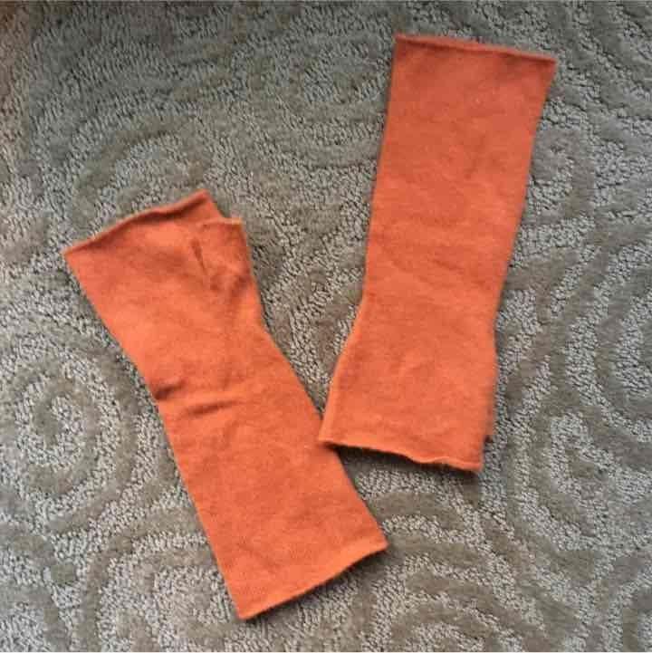 Pure cashmere Women's fingerless gloves