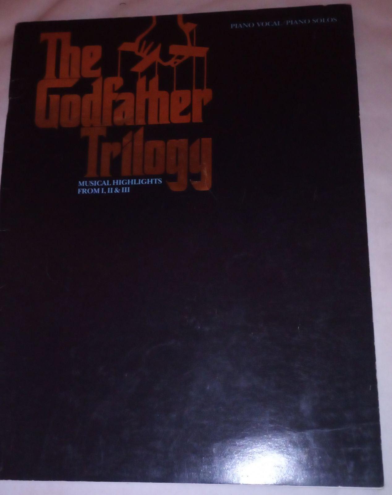 RARE The Godfather Musical Sheet Music