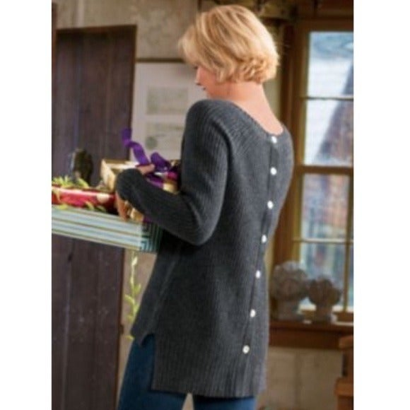 Soft Surroundings Cashmere Sweater Small