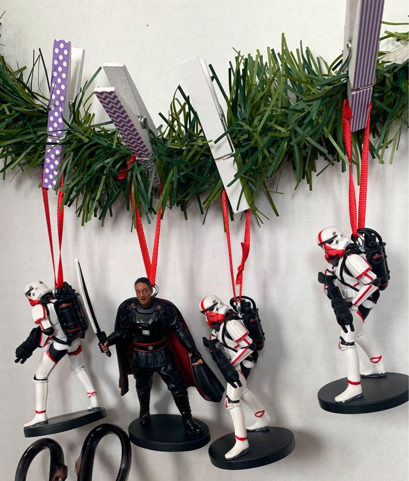 Star Wars Storm trooper ornaments