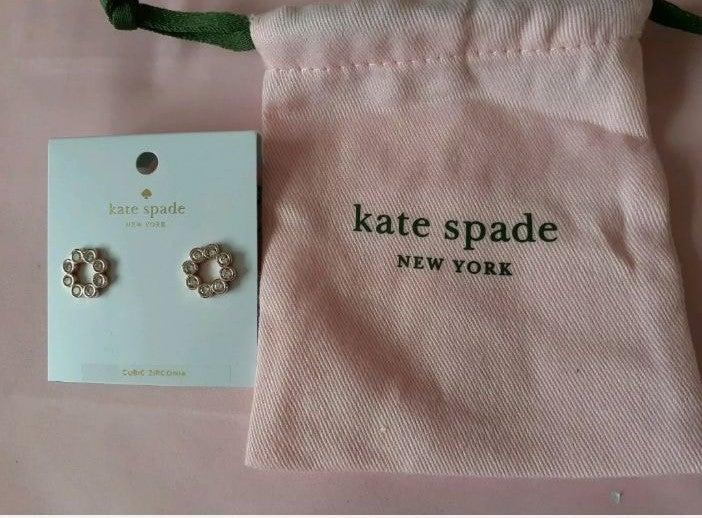 Kate Spade Full Circle Crystal Earrings