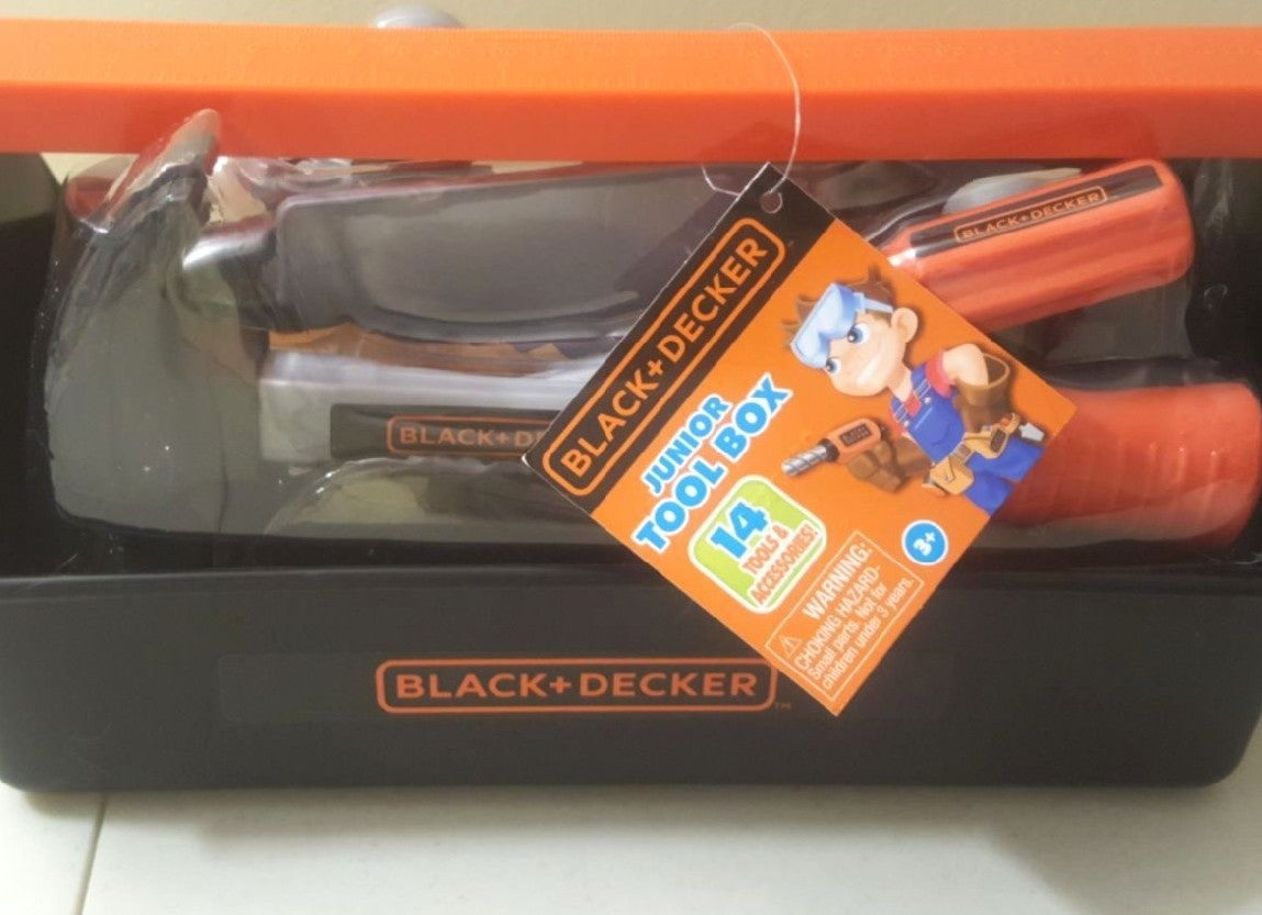 Black & Decker Junior Tool Box *New