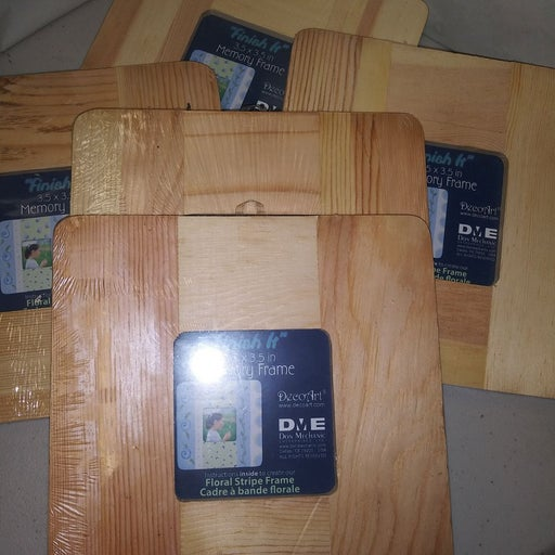 5 Ready to Finish Wood Memory Frames