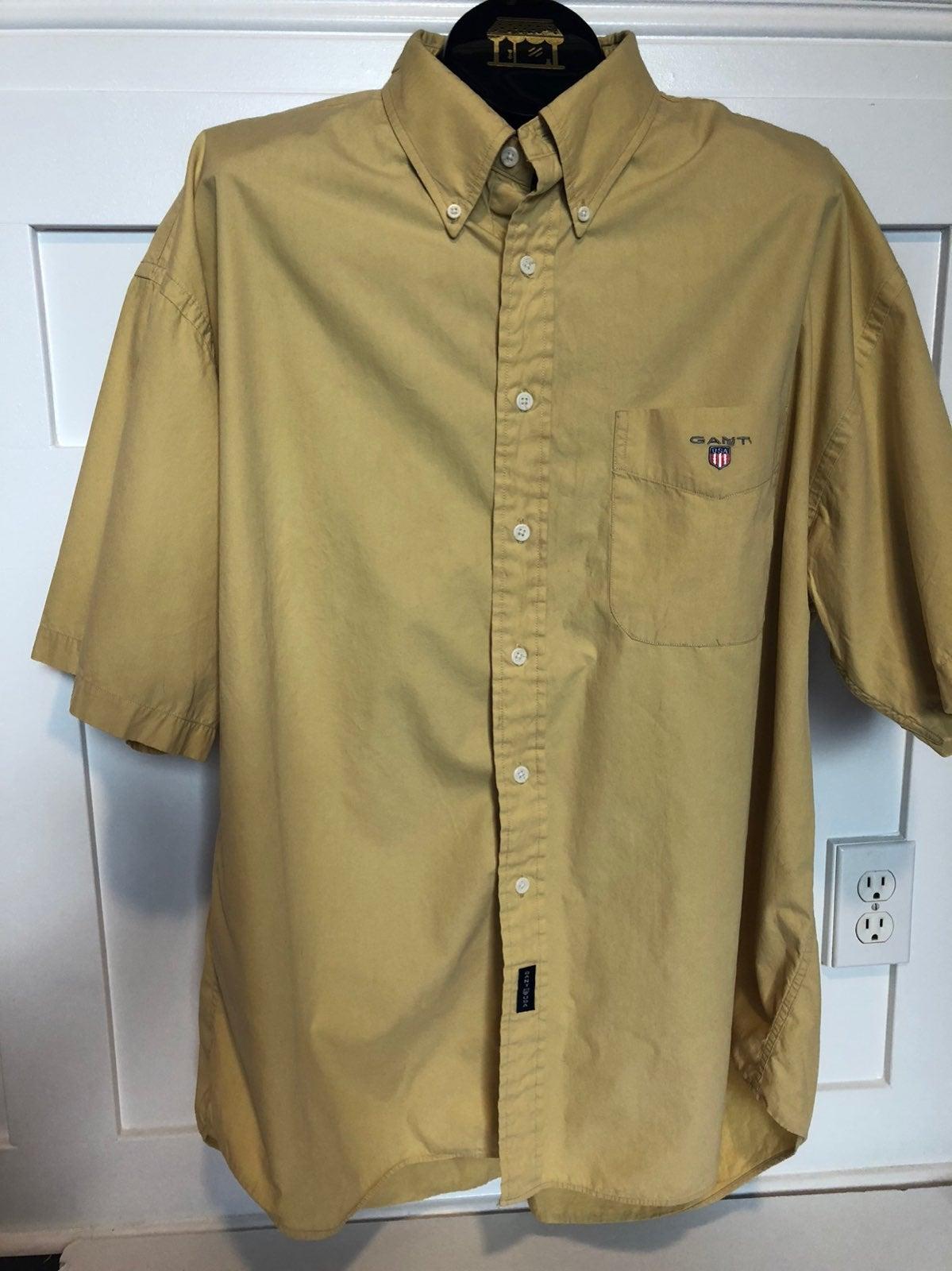 Vintage Gant short sleeve button shirt 2
