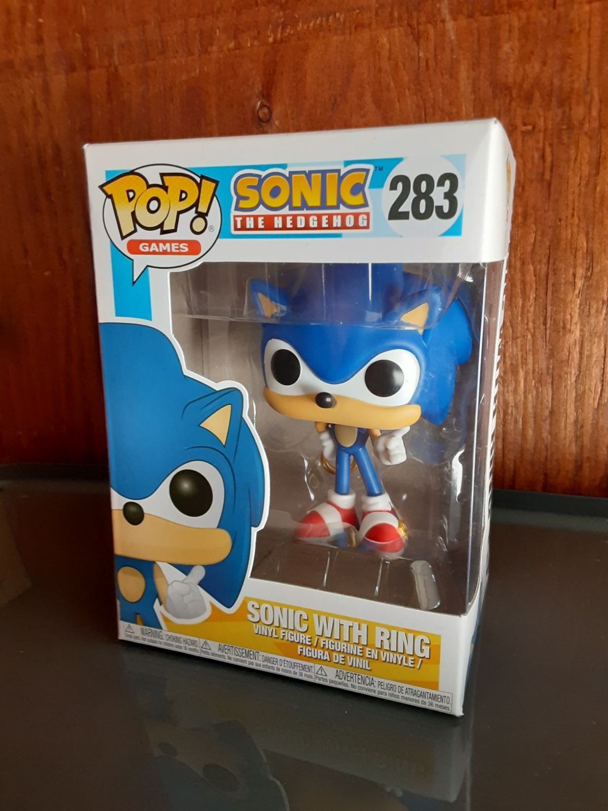 Funko Pop! Games Sonic with Ring