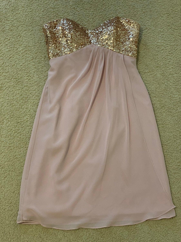 Alfred angelo sapphire dress