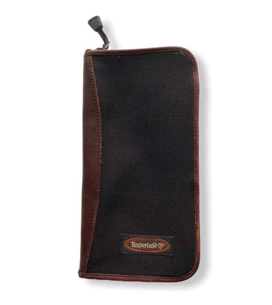 Timberland leather trimmed portfolio