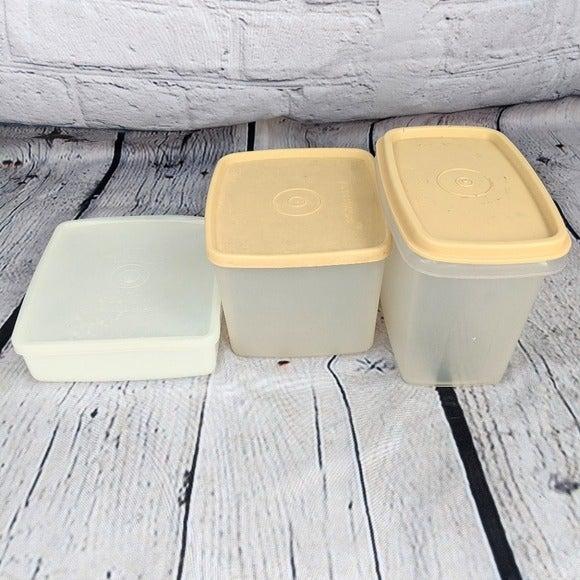 Vintage Tupperware Container Set