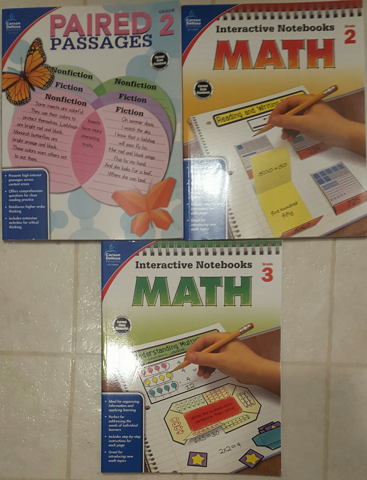 Grade 2 And 3 Educational Material Books