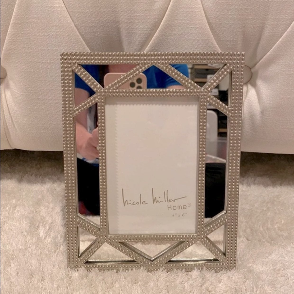 NICOLE MILLER HOME 4X6 Picture Frame