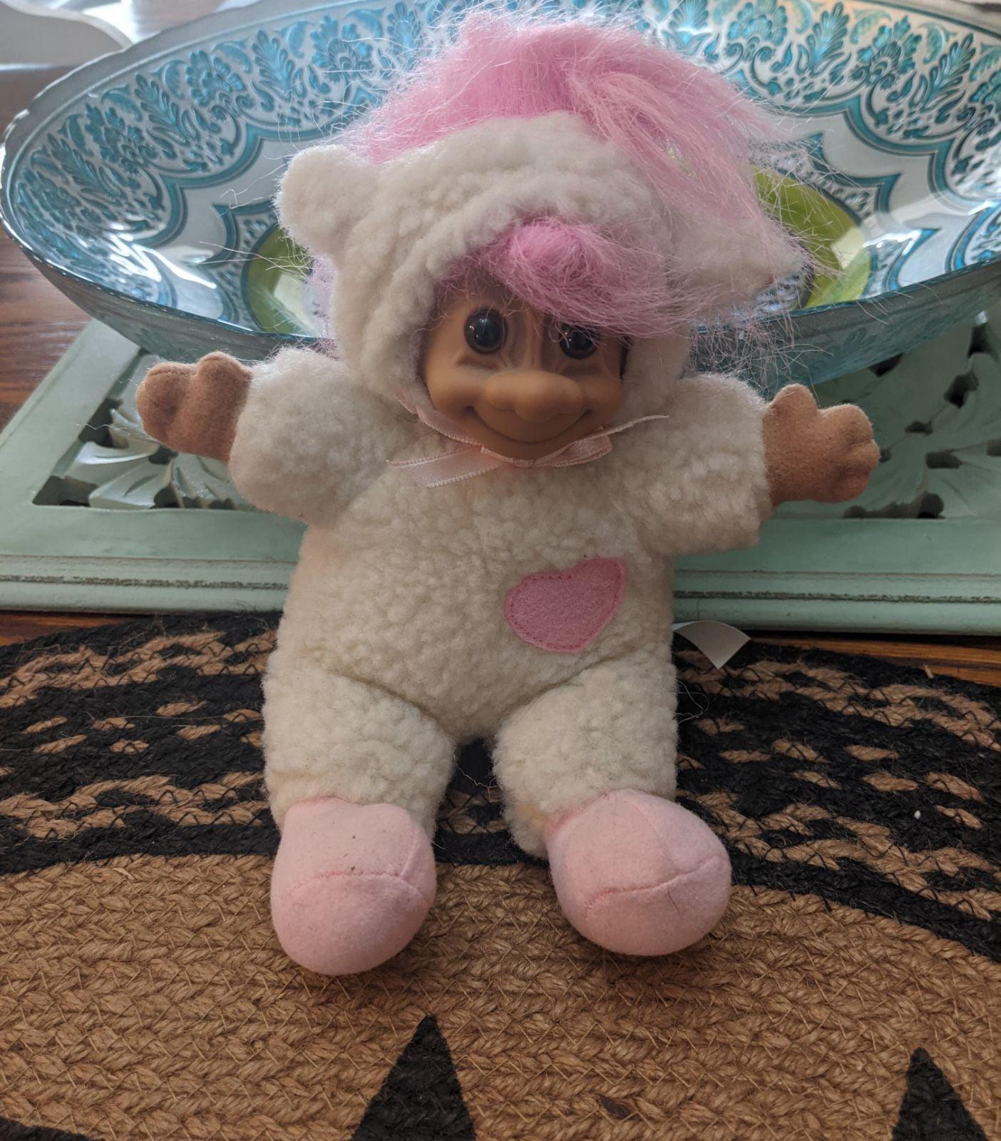 Troll doll lamb