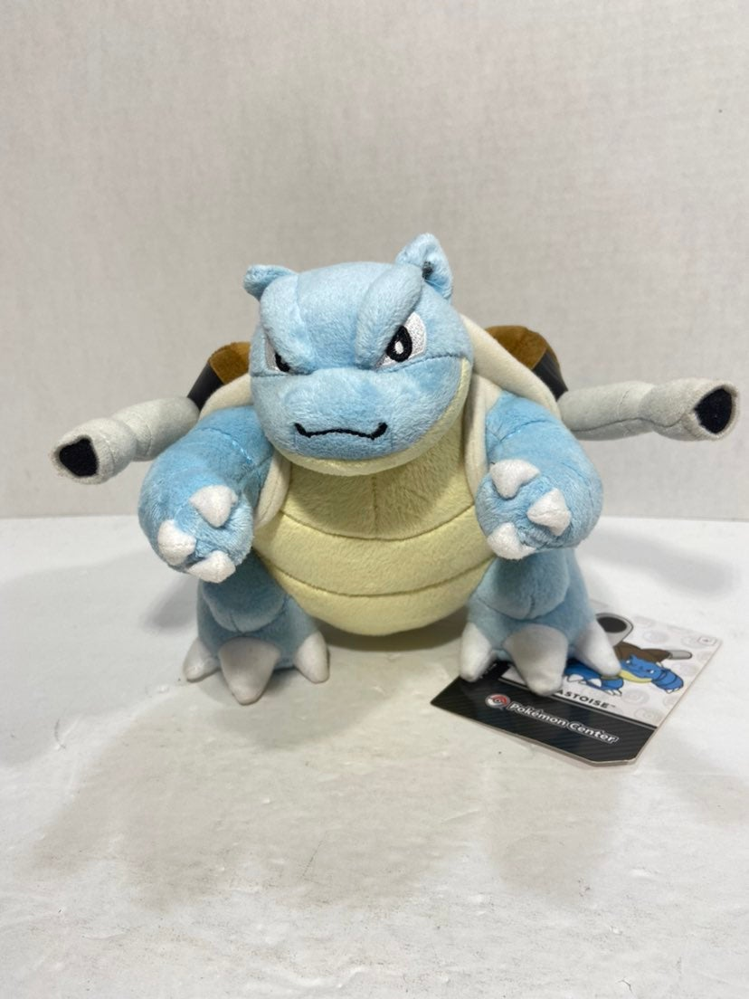 Pokemon Center Blastoise 9-Inch Plush