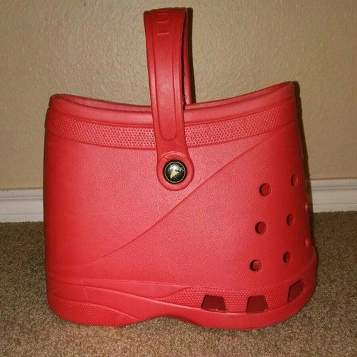 Lubber croc handbag
