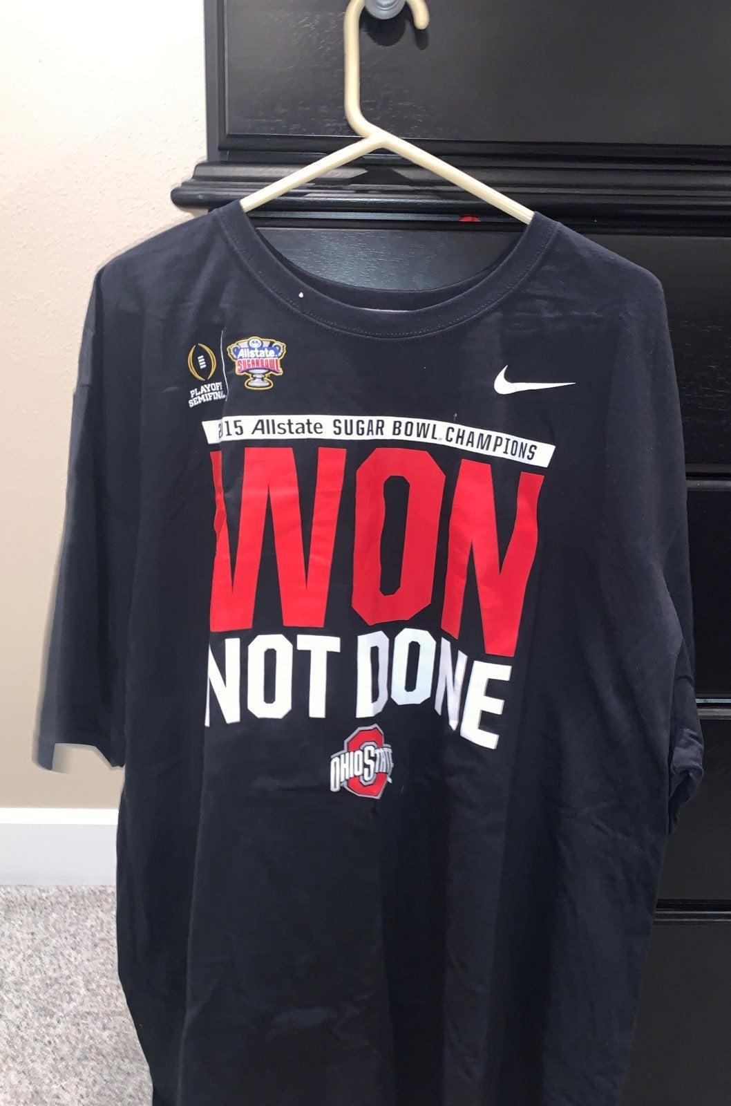 Nike Ohio State Sugar Bowl Champions Shi