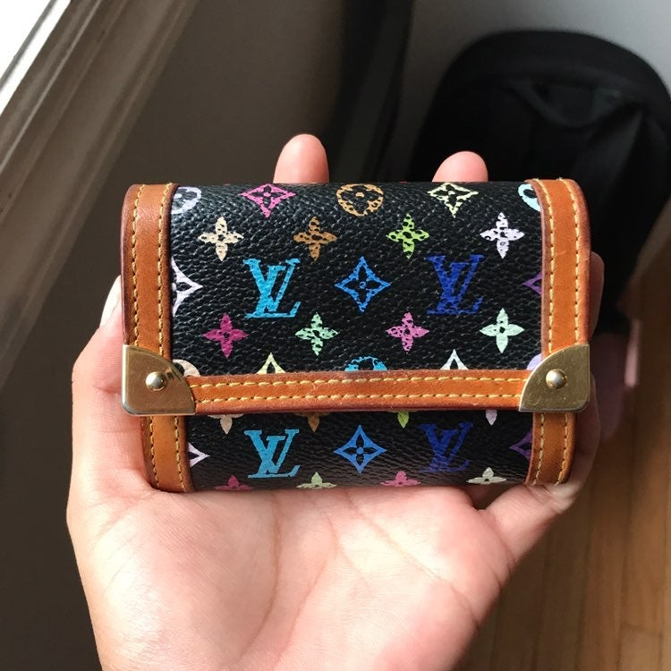 Louis Vuitton Multicolor Noir Wallet