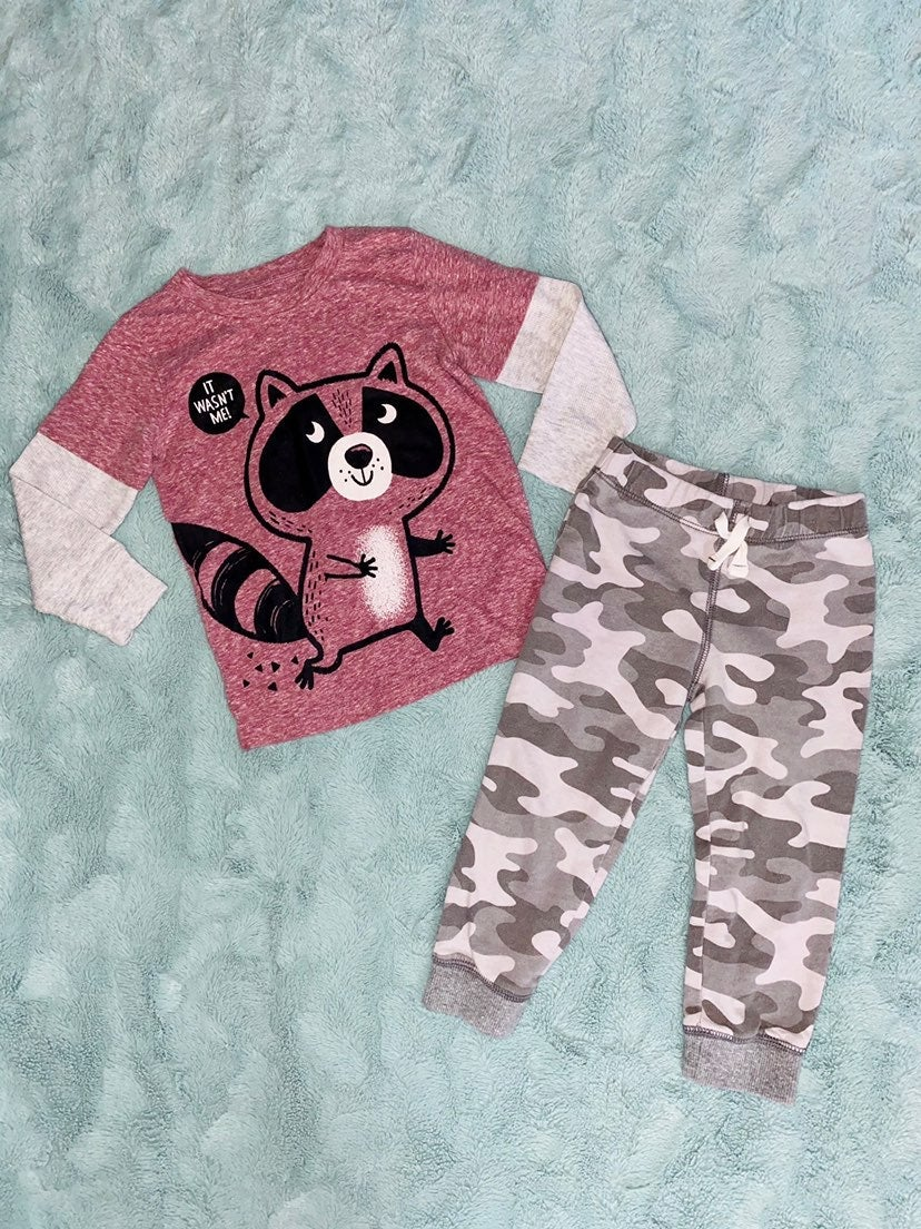 Toddler L/S Shirt and Pants Outfit (3T)