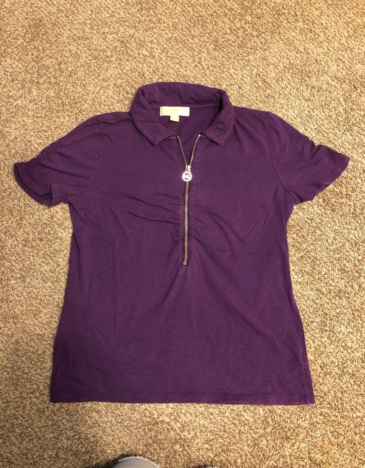 Michael Kors zip T-shirt