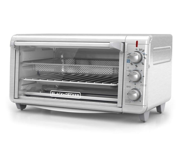 Extra Wide Crisp 'N Bake Air Fry Toaster