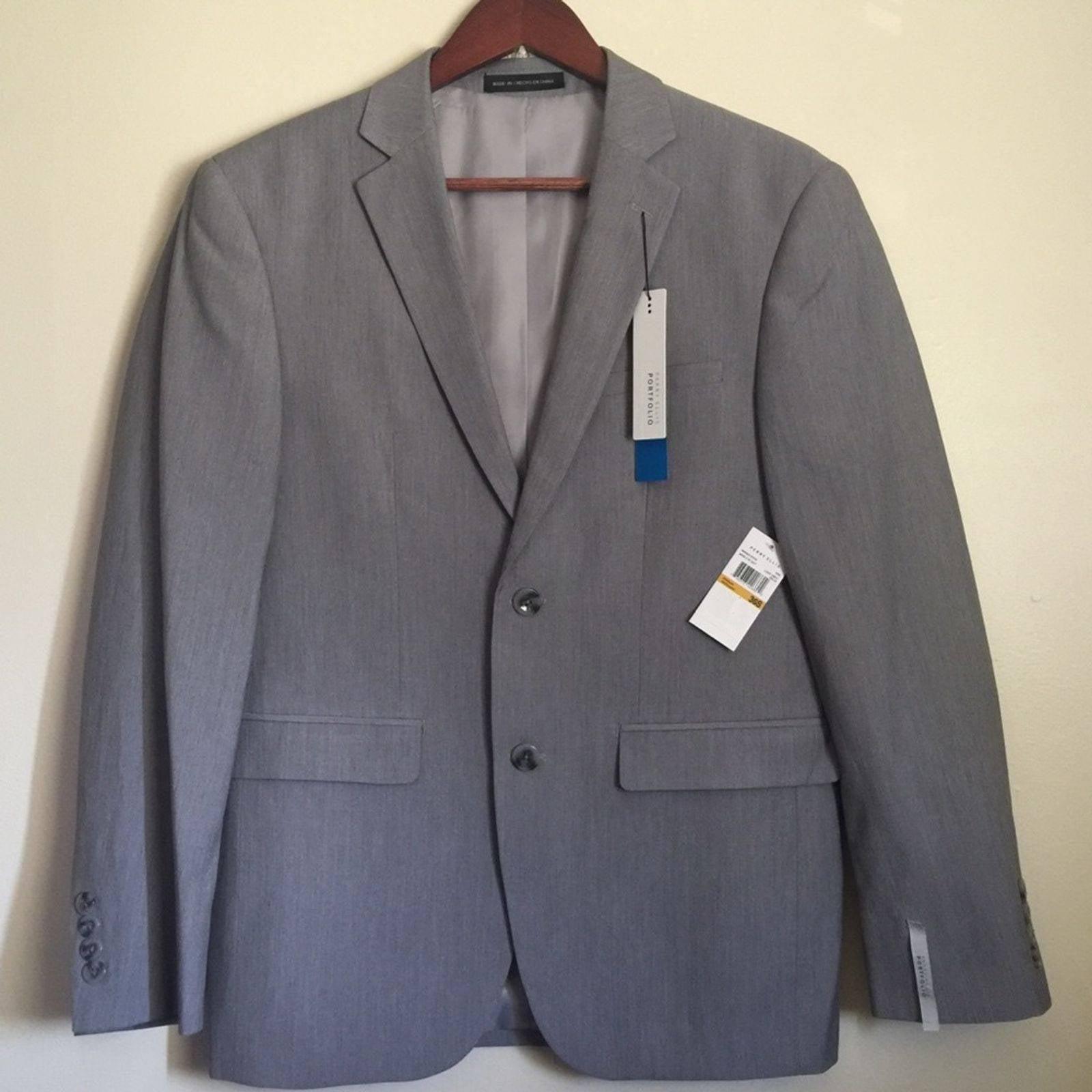 Perry Ellis  men's slim fit jacket