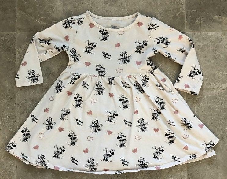 Disney Jr Minnie Mouse Dress Size 4T