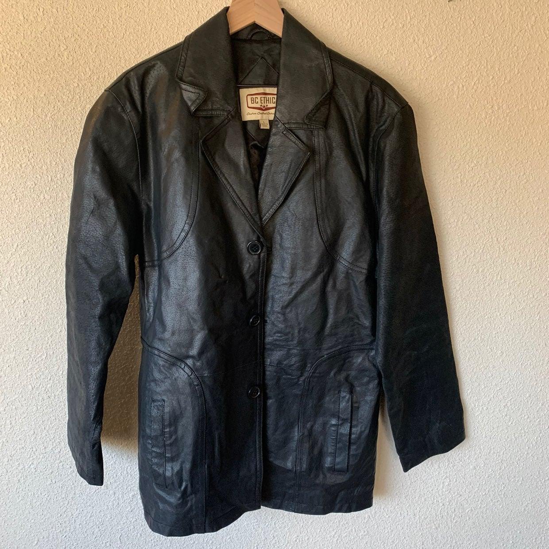 Leather Jacket BC Ethics black