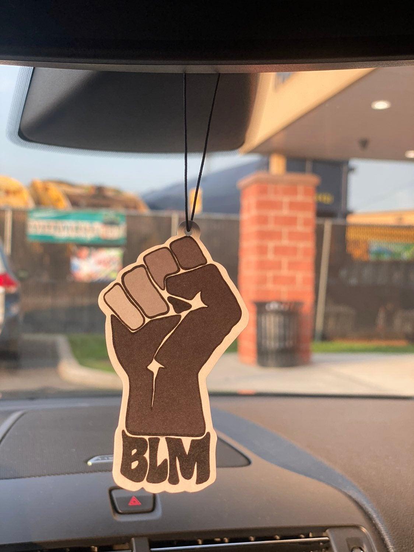 Blm car air frechner