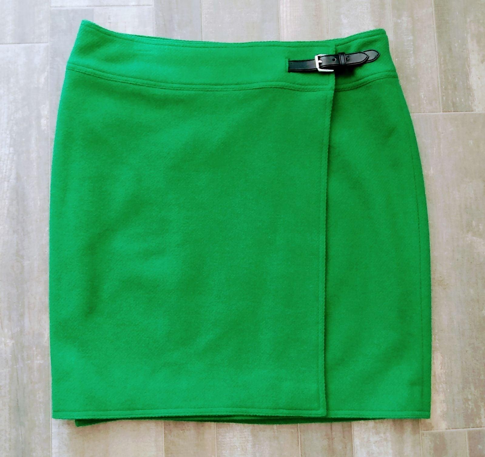 NWOT Lauren Ralph Lauren Wool Skirt 12