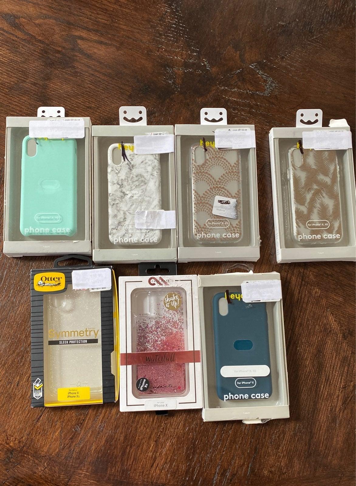 Iphone X/XS case lot
