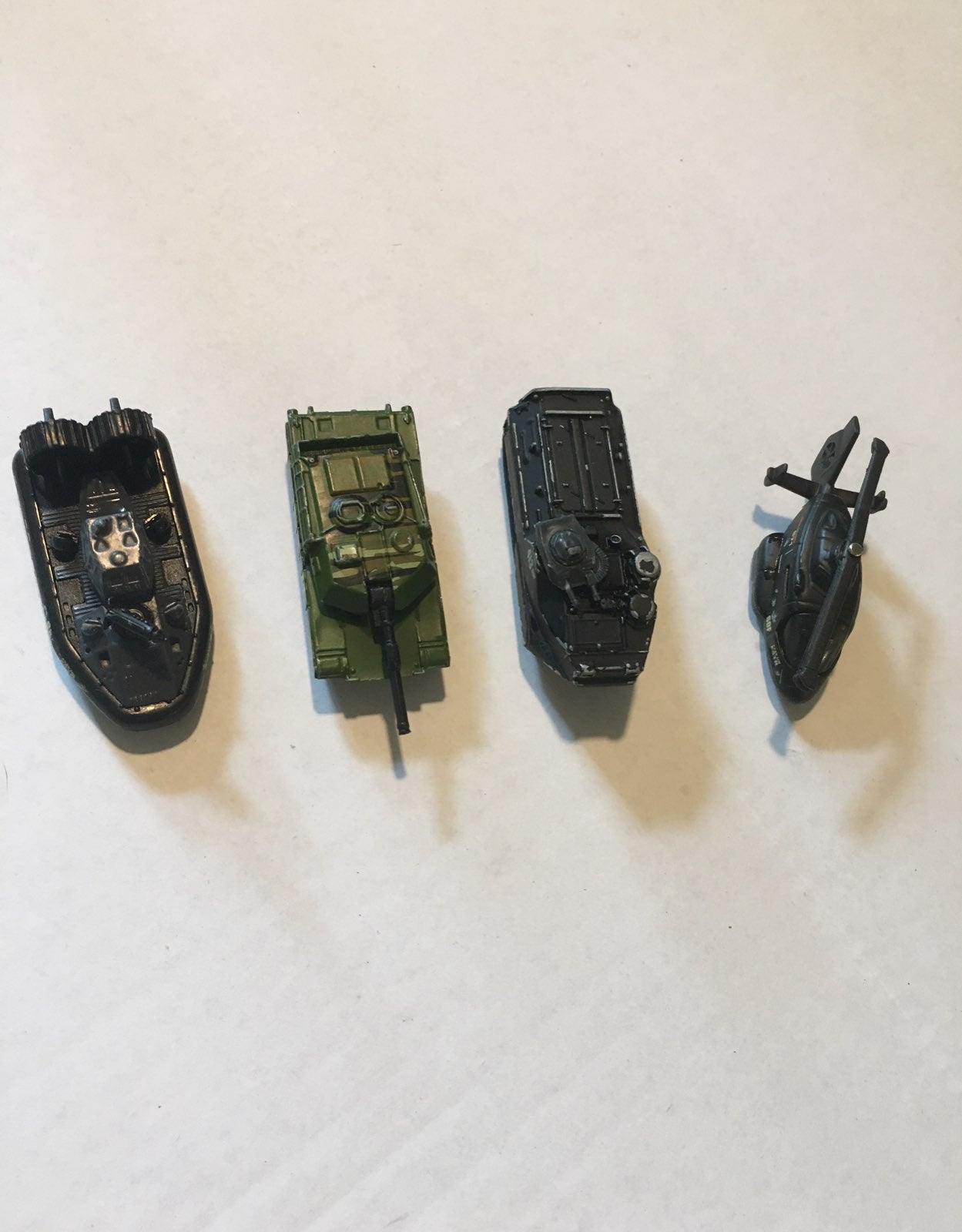Matchbox boats/tank