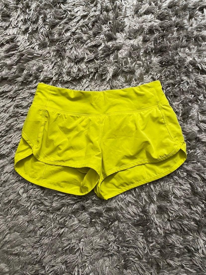 Womens speedy shorts lululemon 6