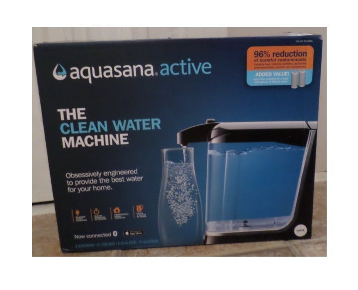 Aquasana Active Water Filter Machine-Wht