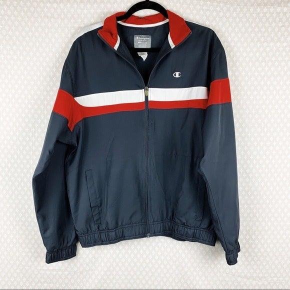 Champion Grey Striped Double Dry Jacket