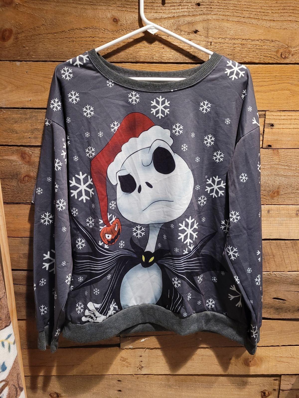 Nightmare Before Christmas Sweater